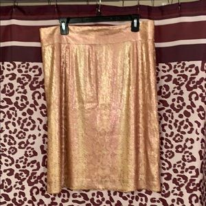 Two tone Sequin skirt
